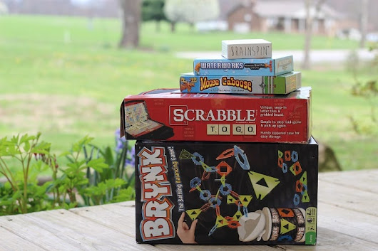 Scrabble to Go & Brynk {+Giveaway} - Hobbies on a Budget
