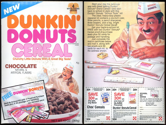 Donut Cereal – Glines Over Breakfast #1