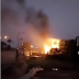 Akwa Ibom Broadcasting Corporation on fire (video)