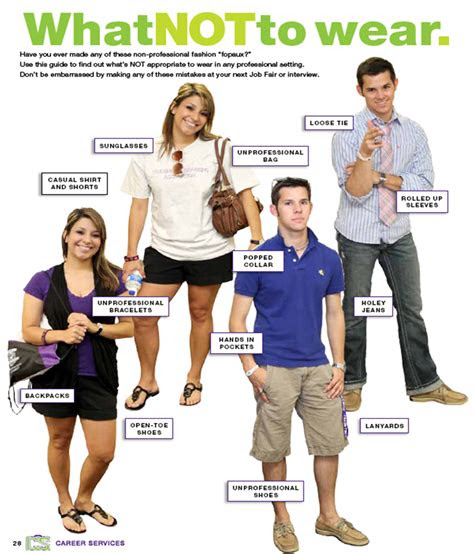 professional attire career services tarleton state
