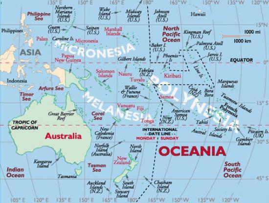 Oceanie 1