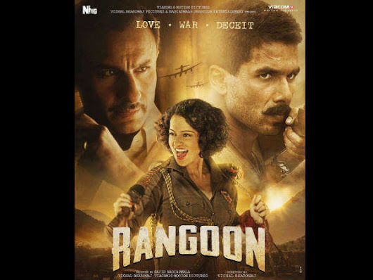Rangoon Celeb Review: Here is what Bollywood stars are saying about Vishal Bhardwaj's film - Times of India