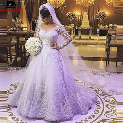 Popular Purple And White Princess Wedding Dress Buy Cheap