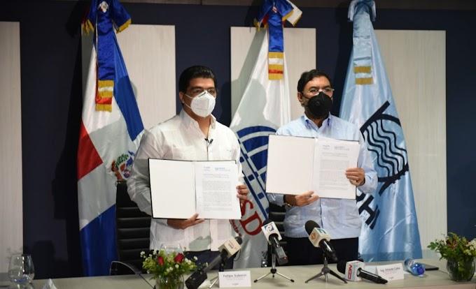 CAASD E INDRHI FIRMAN CONVENIO PARA FORTALECER SUMINISTRO Y ABASTECIMIENTO DE AGUA POTABLE