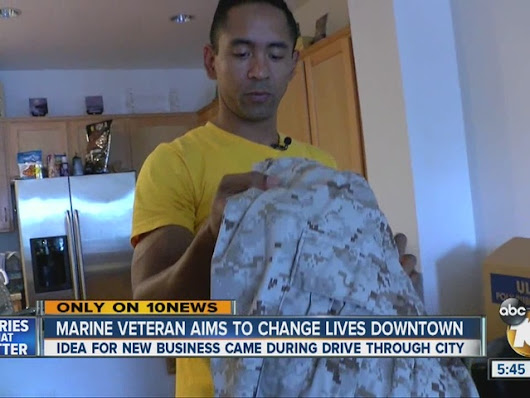 Marine vet hopes his new business changes lives