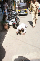 The Crawling Beggar of Bandra Bazar Road by firoze shakir photographerno1