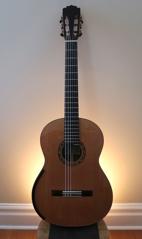 For Sale: Refinished Dominelli Classical Guitar | this is classical guitar