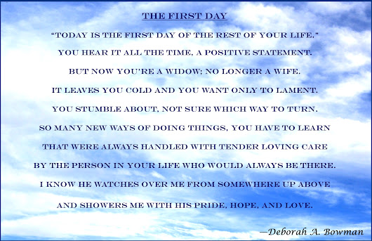 The First Day, a poem by Deborah A. Bowman