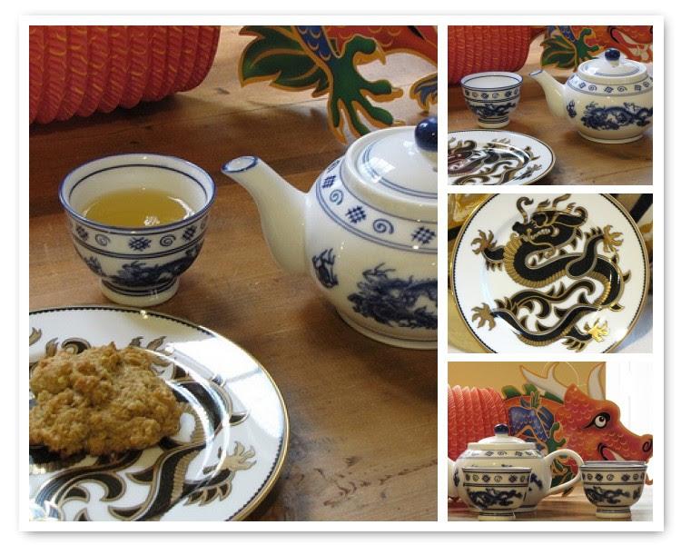 Mosaic Dragon Tea