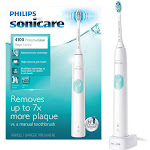Philips Sonicare ProtectiveClean Plaque Control Electric Toothbrush, White