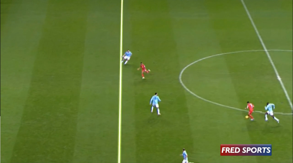 Manchester City Offside