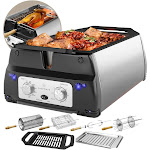ChefWave Sosaku Smokeless Infrared Rotisserie Indoor Tabletop Grill
