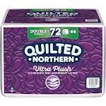 Quilted Northern Ultra Plush 3-Ply Toilet Paper, 36 Rolls/Carton (873945)