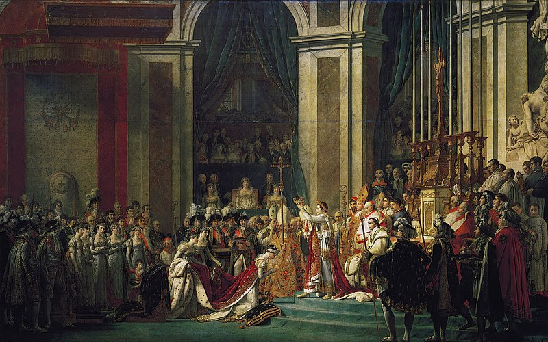 File:Jacques-Louis David, The Coronation of Napoleon edit.jpg