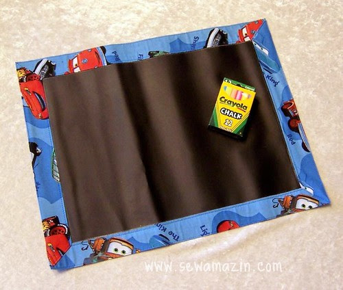 Blackboard Fabric Placemats