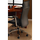 Cleartex Ultimat - Chair mat - 39 in x 49.2 in - contoured - clear