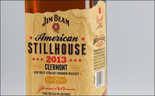 Jim Beam first with new wood veneer PS label