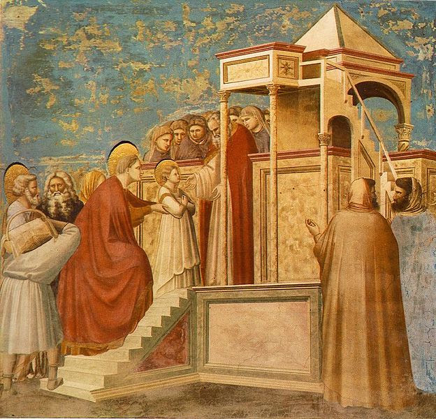 Archivo:Giotto - Scrovegni - -08- - Presentation of the Virgin in the Temple.jpg