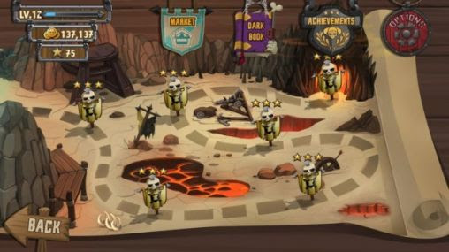 Screenshots of the Skull legends for Android tablet, phone.