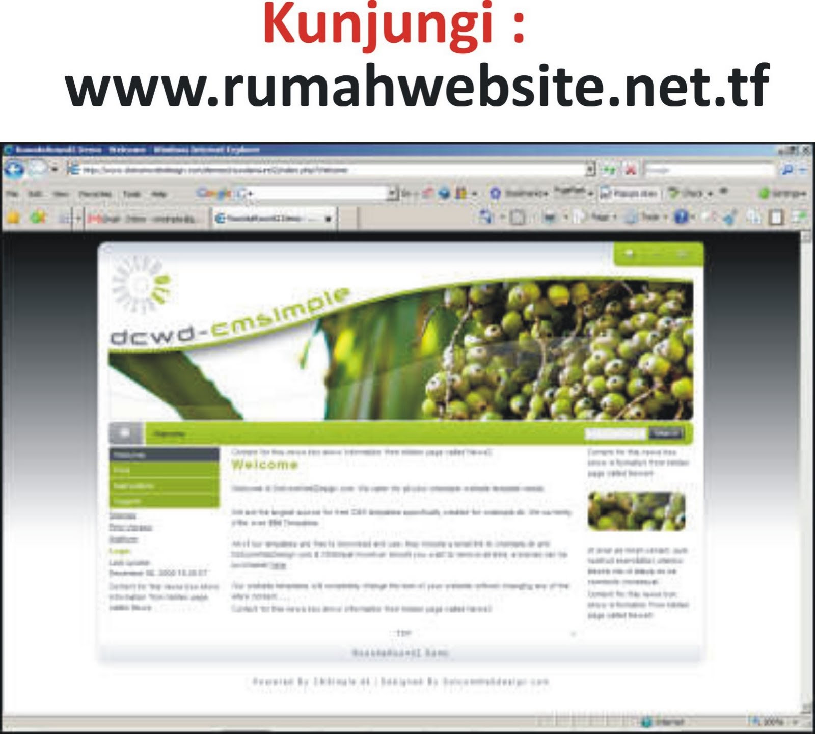 :: Jasa Bikin Website Murah Bngt!!  Pasang iklan gratis