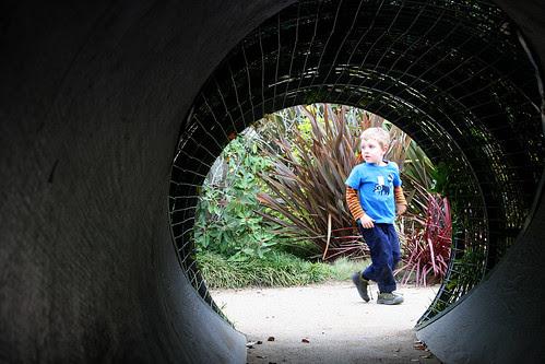 huntington kids tunnel