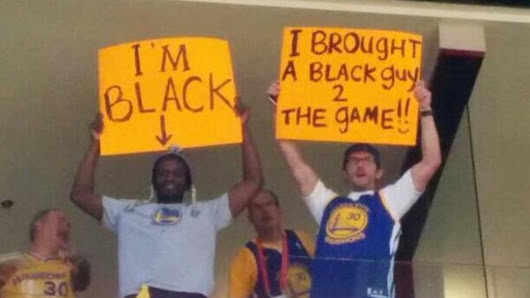 Fans bring wonderful Donald Sterling signs to Warriors-Clippers