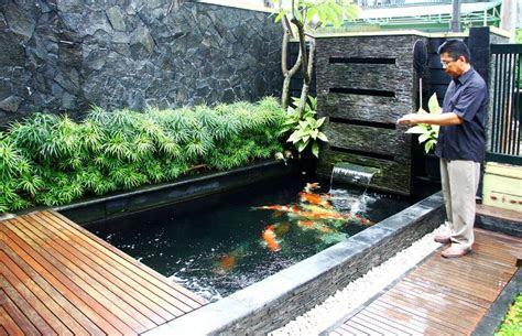 desain rumah kayu diatas kolam ikan   desain rumah minimalis