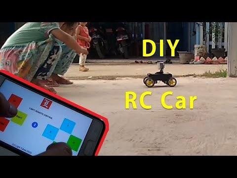 Membuat Mobil Remote Control Bluetooth Android