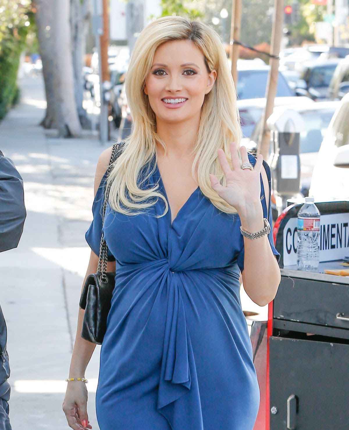 HOLLY MADISON Out and About in West Hollywood 03/24/2016