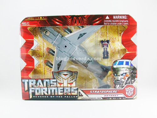 Transformers Stratosphere RotF Voyager - caja