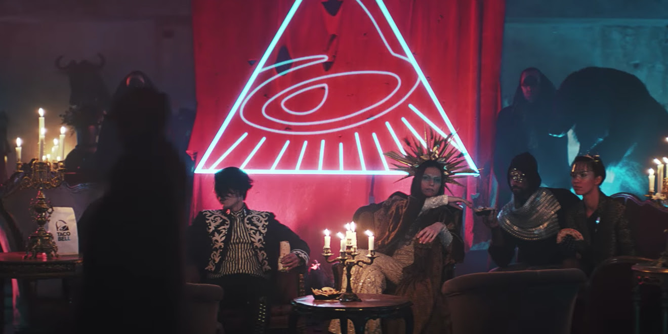 Image result for taco bell illuminati
