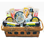 14pc Picnic Party Gourmet Summer Sausage and Cheese Gift Basket - Large by Christmas Central