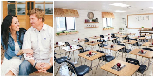 Chip and Joanna Gaines Gave a 6th Grade Classroom a Farmhouse-Style Makeover