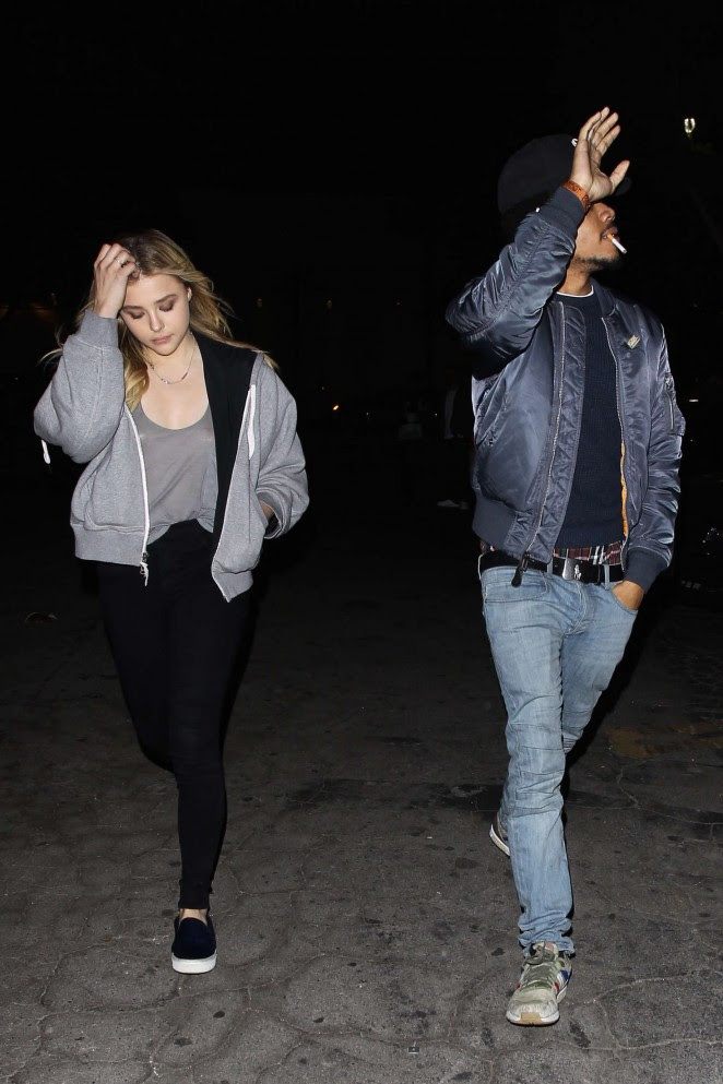 Chloe Moretz: Leaving Bardot Nightclub -03