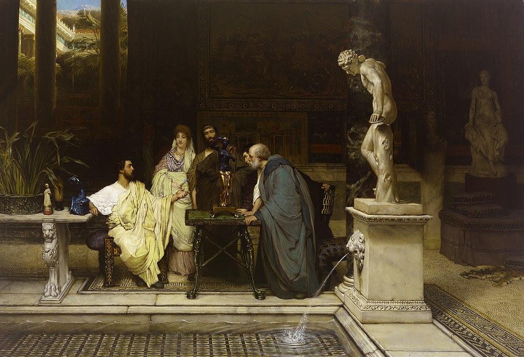 Lawrence Alma-Tadema A Roman Art Lover 1.jpg