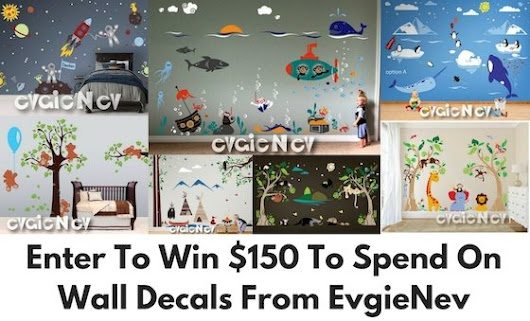 EvgieNev $ 150 Wall Decal Giveaway