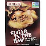 In The Raw Sugar In The Raw Natural Cane Turbinado Sugar From Hawaii 100 Packet(s)