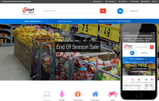 Smart Bazaar an E-commerce Shopping Category Bootstrap Responsive Web Template
