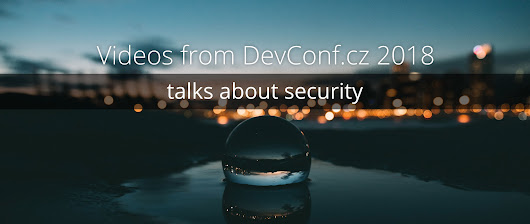 3 security videos from DevConf.cz 2018 - Fedora Magazine
