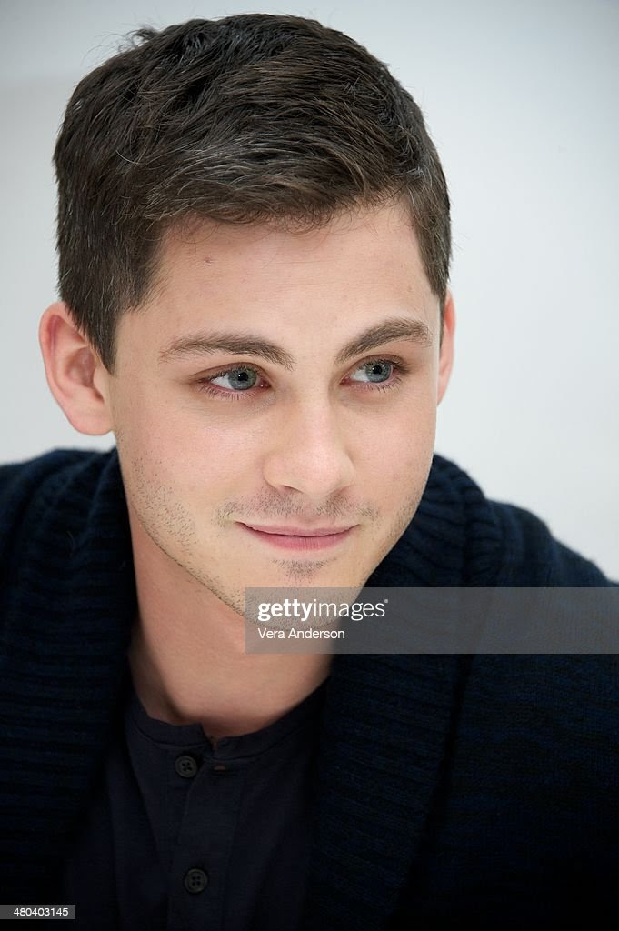 Logan Lerman at the 'Noah' Press Conference at the Four Seasons Hotel on March 24, 2014 in Beverly Hills, California.