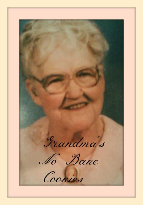 Grandma Blevins No Bake Cookies
