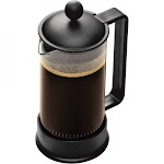 Bodum Brazil 8 Cup French Press Coffee Maker, Black