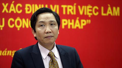 bộ nội vụ, thứ trưởng nội vụ, Trần Anh Tuấn, tinh giản biên chế, công chức, vị trí việc làm