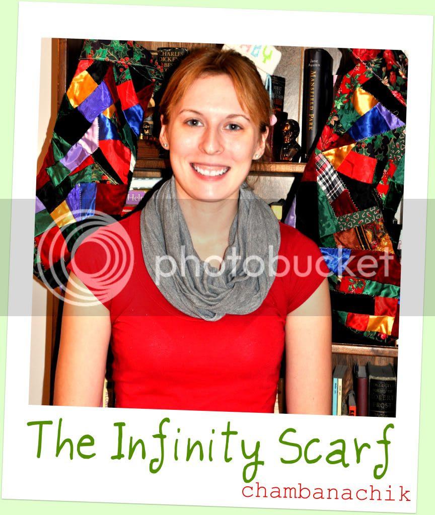 chambanachik: DIY: Infinity Scarf from a T-Shirt