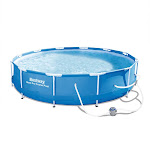Steel Pro Frame Pool Set, Blue