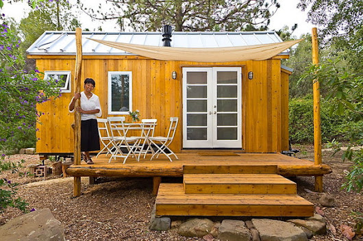 See a Woman's Incredible 140-Square-Foot Dream Home
