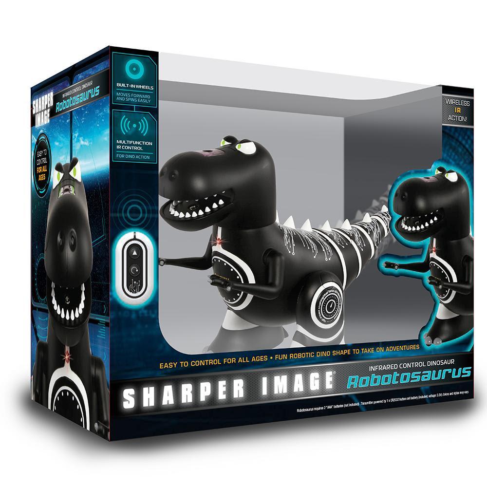 Robotosaurus Mini Remote Control Robotic Dinosaur Sharper Image