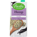 Pacific Natural Foods Hemp Vanilla - Non Dairy - 32 Fl Ounce -PACK 12