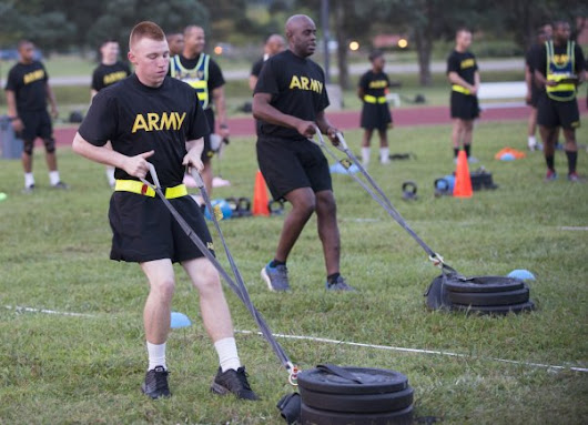 Army Reveals New Combat Fitness Test