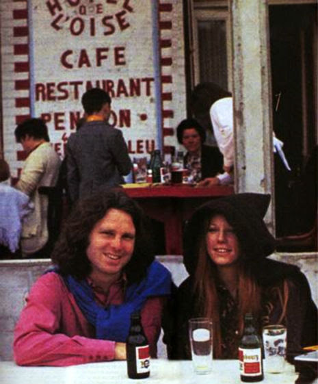 The last known photographs of Jim Morrison in Paris, dated June 28, 1971